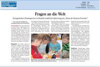 Miniatur: Artikel aus der Kraichgau-Stimme vom 29. April 2014